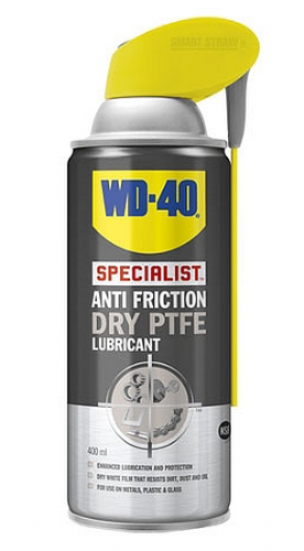 WD-40 Specialist Anti Friction Dry PTFE Lubricant - 400ml